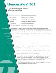 Alumanation 301 PDS